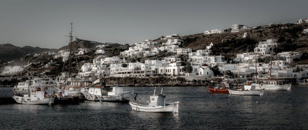Image of The Port of Mykonos