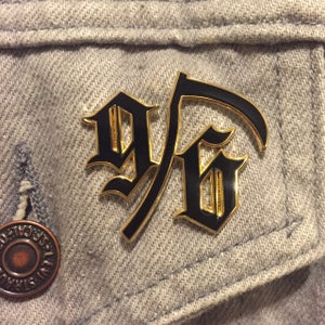 Image of 96 HARD Enamel Pin