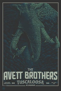 Image of The Avett Brothers Tuscaloosa 16 V1