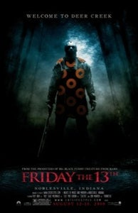Image of Phriday the 13th Deer Creek 2010 poster
