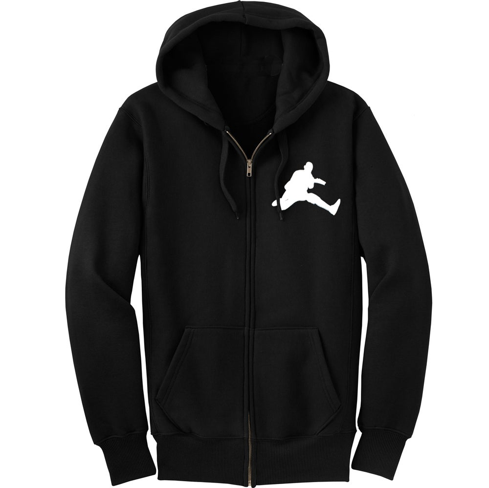 Image of Scott Ian - Air Ian Black Hooded Top