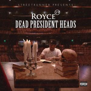 """Image of STREETRUNNER presents Royce Da 5'9 """"Dead President Heads"""" 7"""" single"""