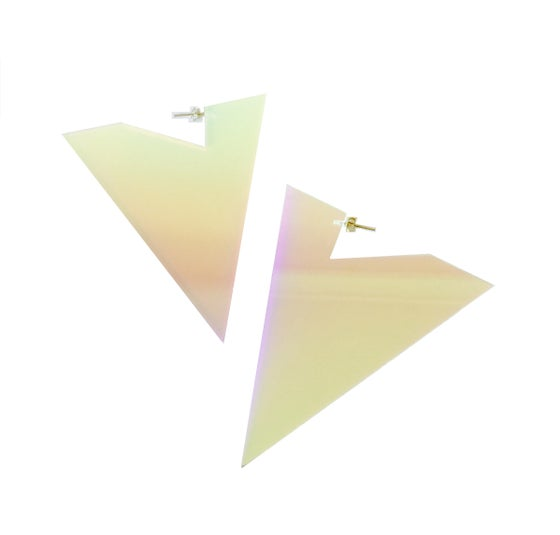 Image of Amazon Dichroic Earrings