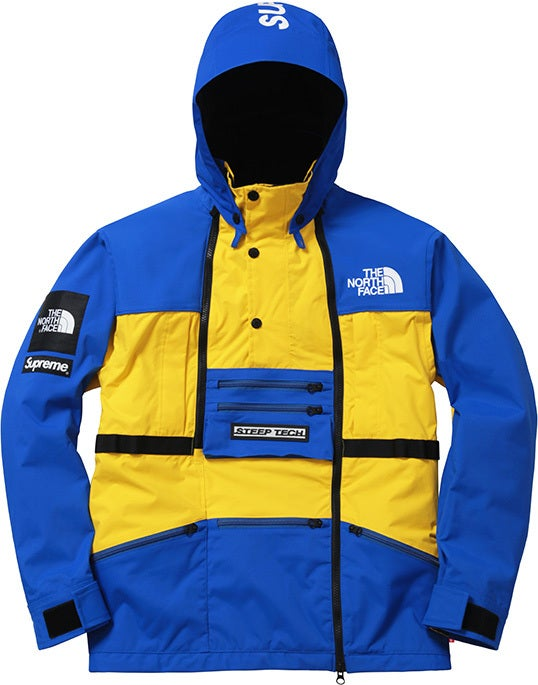Image of Supreme North Face Steep Tech Jacket Royal XL