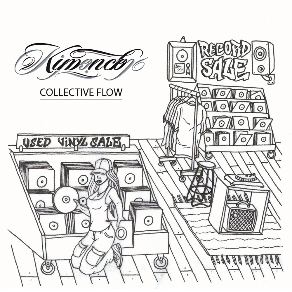 Image of Kimence- Collective Flow 12 track album (free postage)