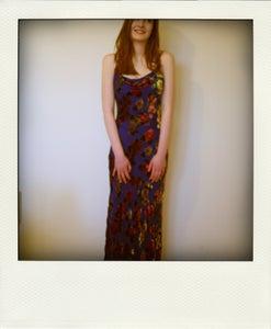 Image of Blue Floral Dress
