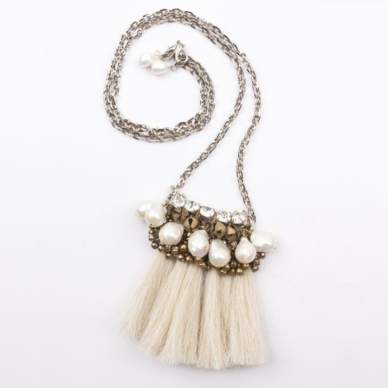 Image of Mini Maya Necklace (Blonde)