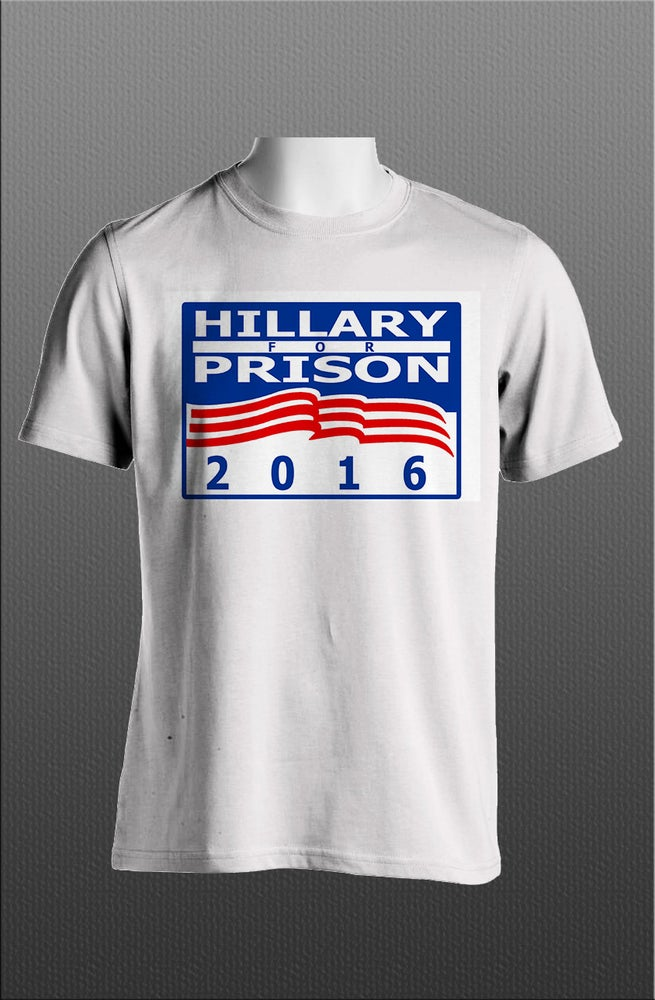 Image of Hillary for Prison