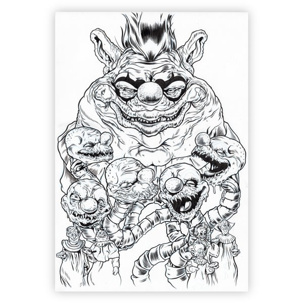 Image of Killer Klowns From Outer Space Original Art