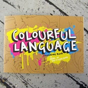 Image of <b>Colourful language</b> <br> - <b>colouring in book</b>