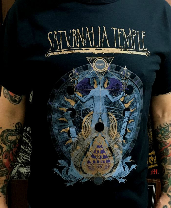 Image of Saturnalia Temple - Aion of Drakon Official T-shirt