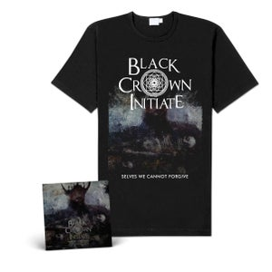 """Image of Black Crown Initiate """"Selves We Cannot Forgive"""" CD-Bundle"""