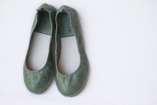 Image of Ballet flats - Eko in Mint