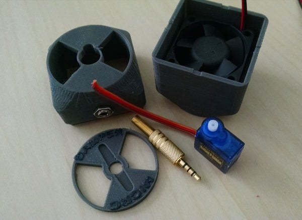 Image of MicroDamper with Fan (+accessories)