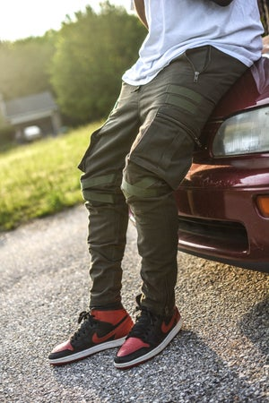 Image of Army Green Special Force Tactical Cargo Pants *Pre-order*