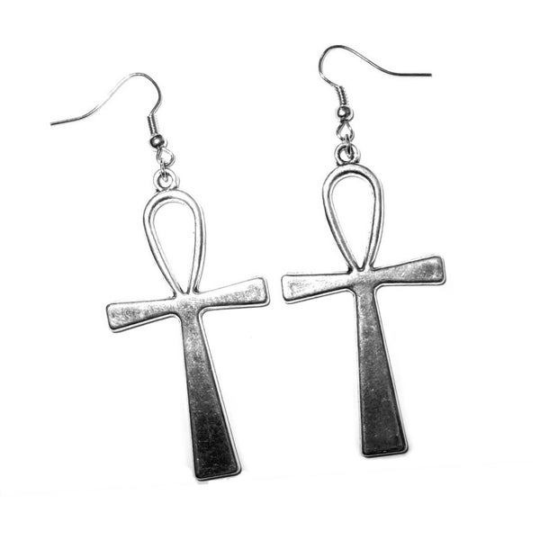 Image of Large Ankh Earrings
