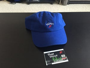 "Image of noah ""winged logo"" 6-panel hat, new"