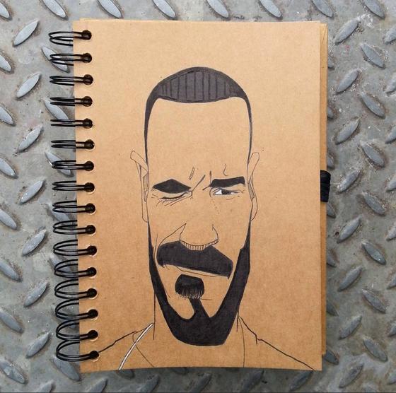 Image of Pencil or Pen Portrait