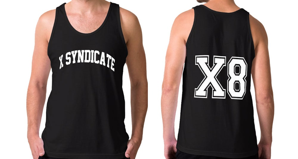 Image of X8 Black Men Tank Top - LIMITED SUMMER EDITION !! -