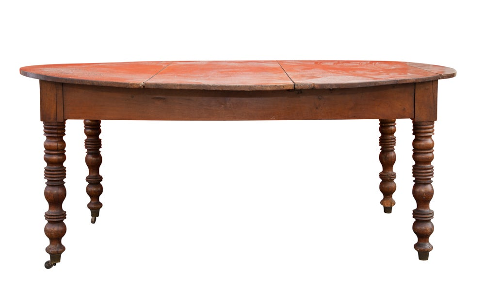 Image of Dining Table with Extensions 19th century French