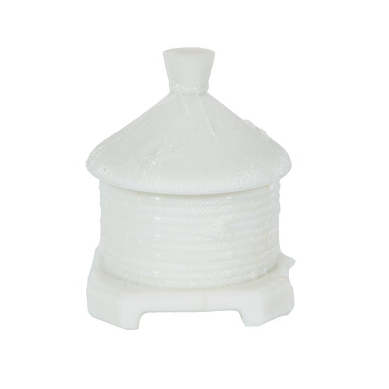 Image of French Opaline Honey Jar