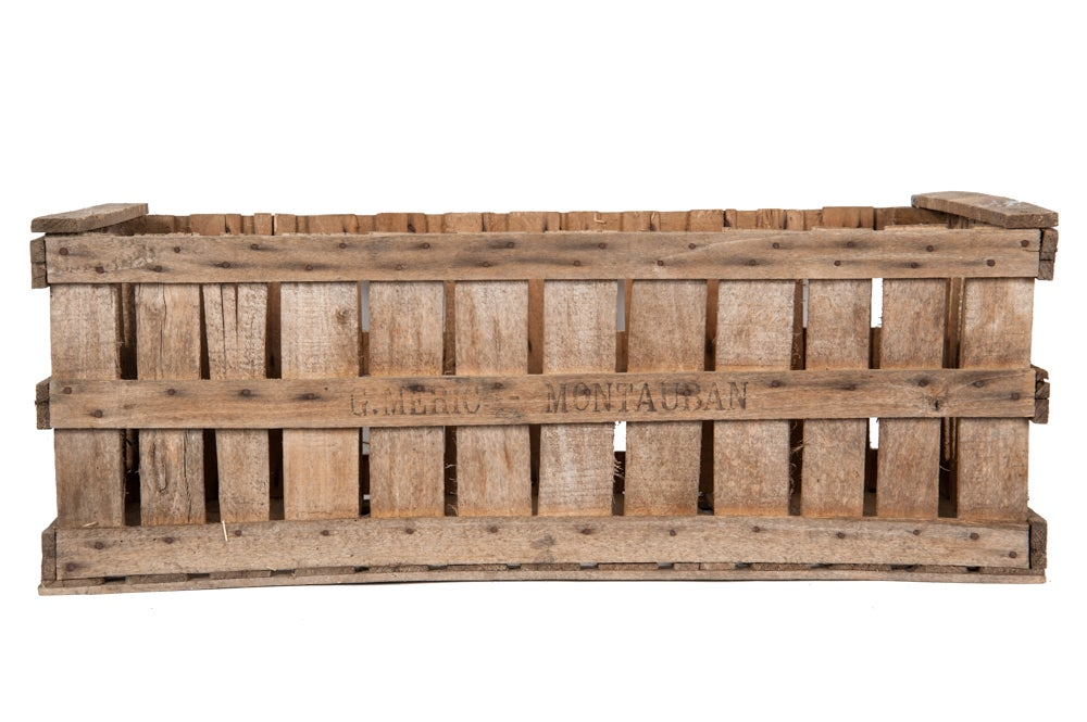 Image of Wooden Storage Container