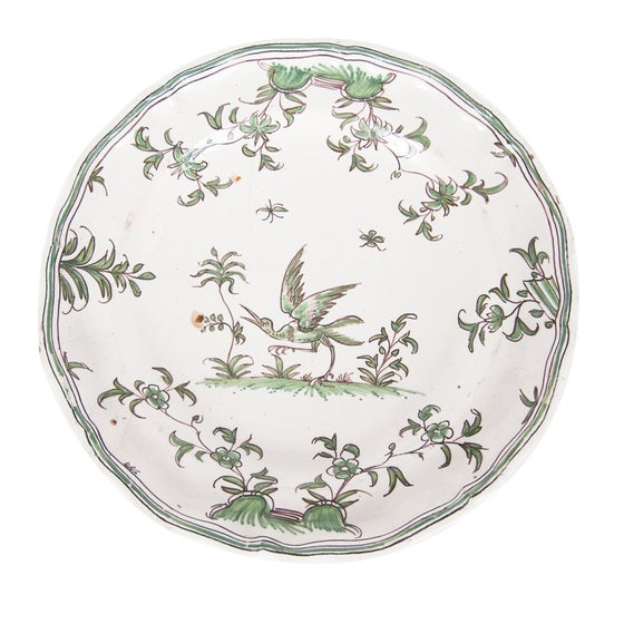Image of Plate from Montauban 18th Century