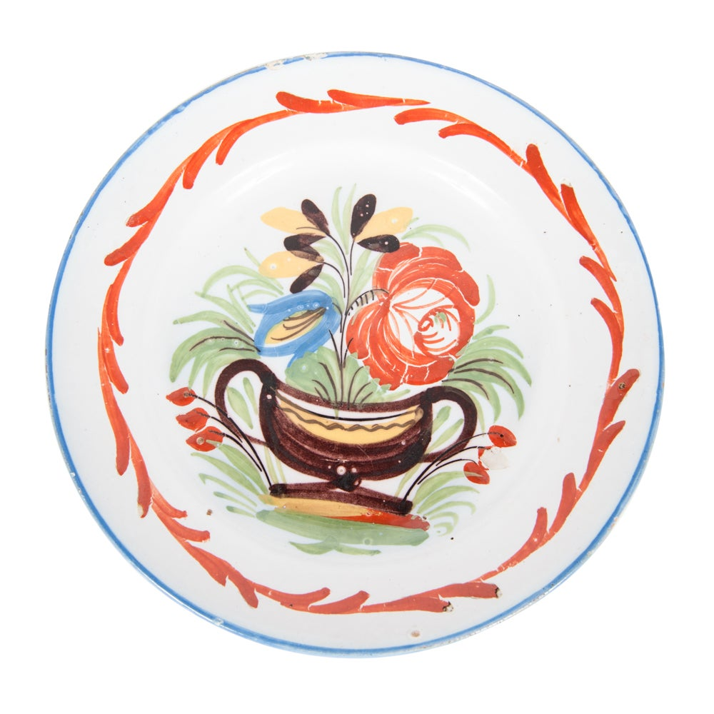 Image of Plate from Montauban 18th Century highly collectible