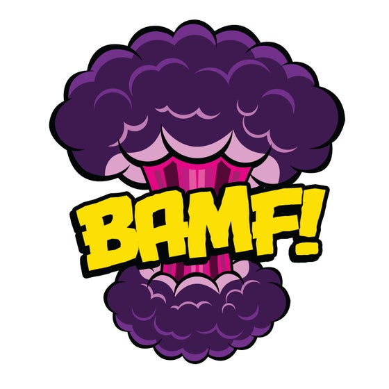 Image of BAMF Cloud Pin