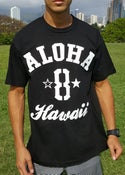 Image of Aloha 8 (black/white)