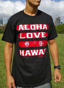 Image of Love Aloha (black/red)