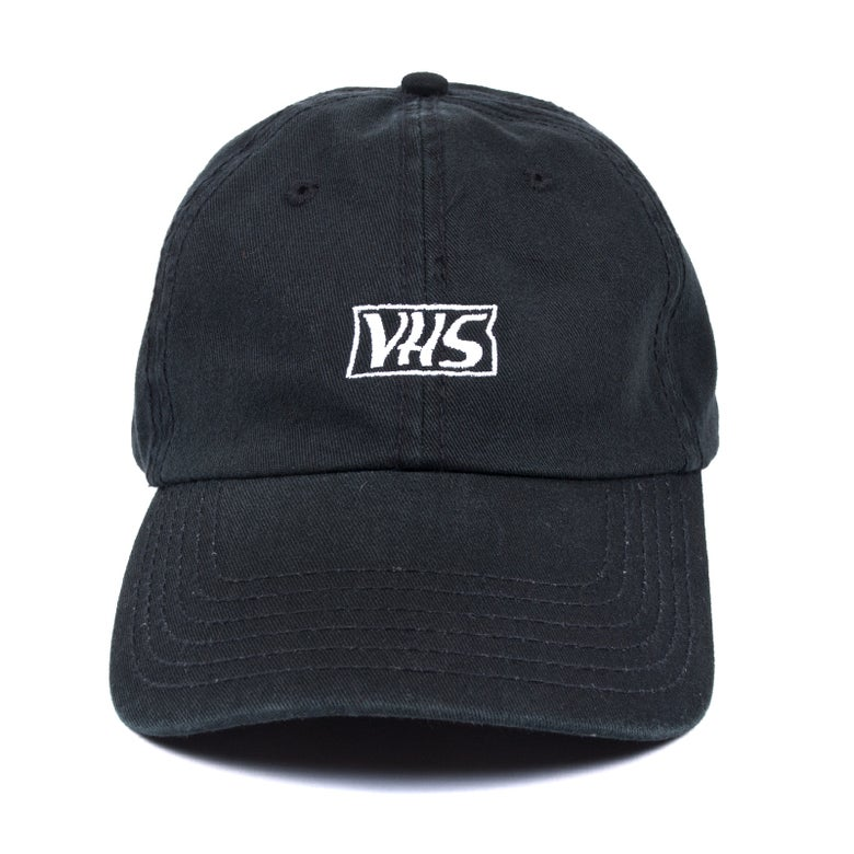 Image of VHS Low Profile Sports Cap - Black