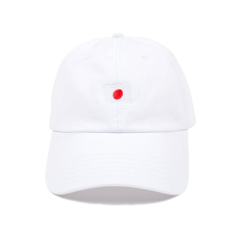 Image of Japan Low Profile Sports Cap - White