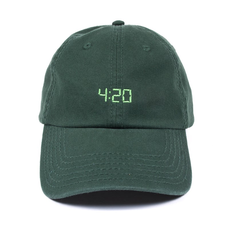 Image of 420 Low Profile Sports Cap - Green