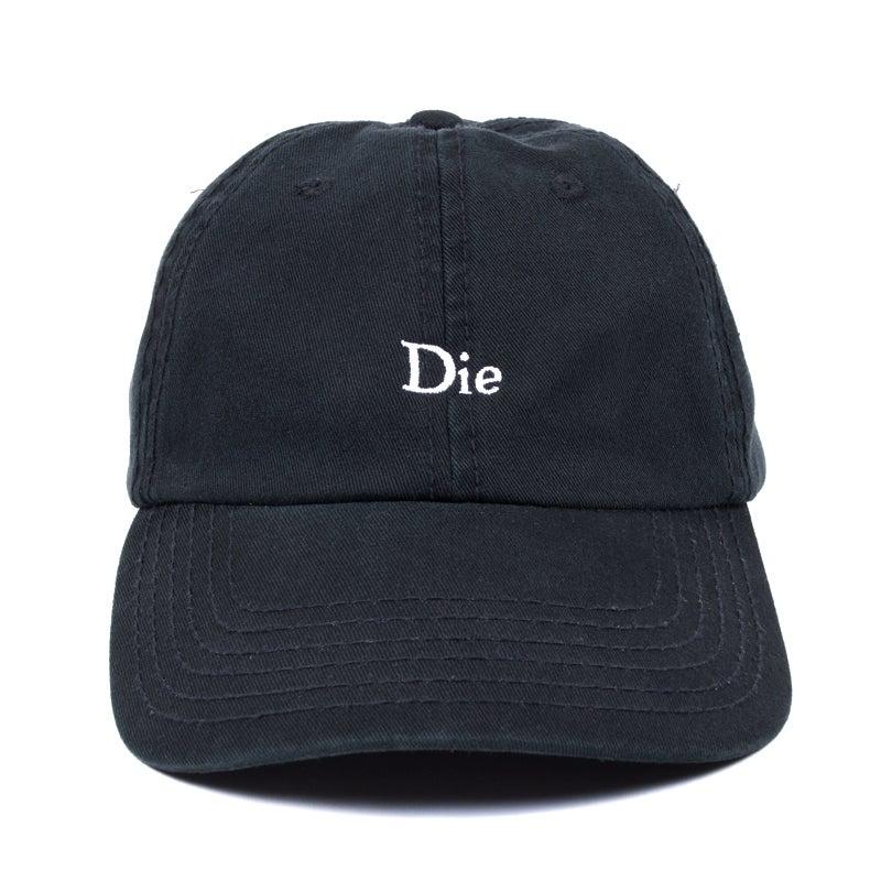 Image of Die Low Profile Sports Cap - Black