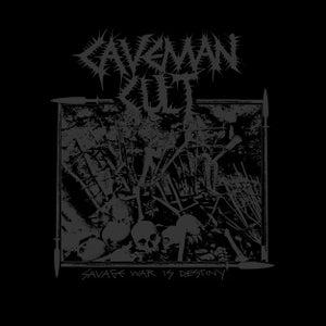 "Image of CAVEMAN CULT ""Savage War Is Destiny"" CD"