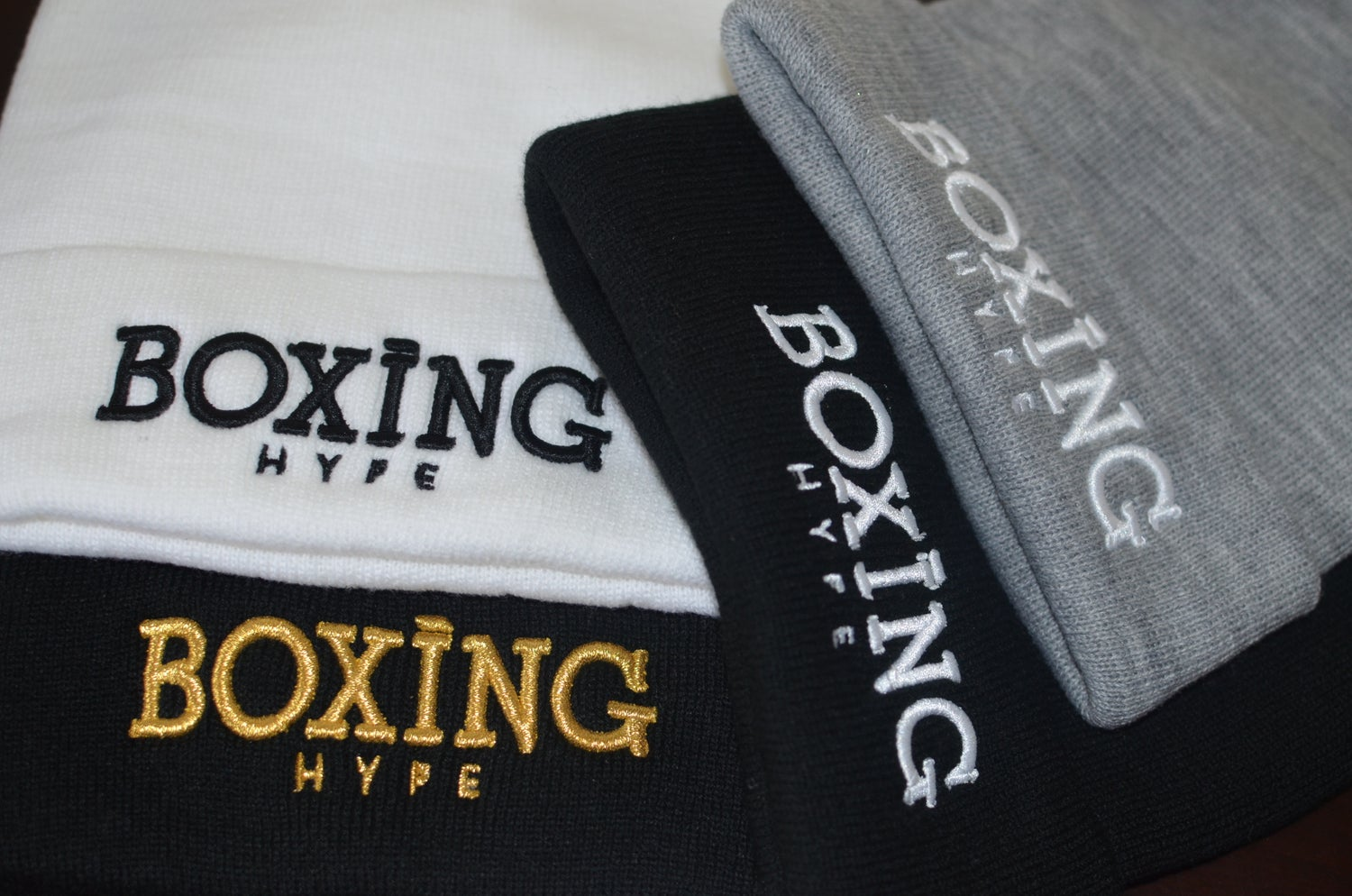 Image of Navy / Gold In Boxing we Trust  SnapBacks