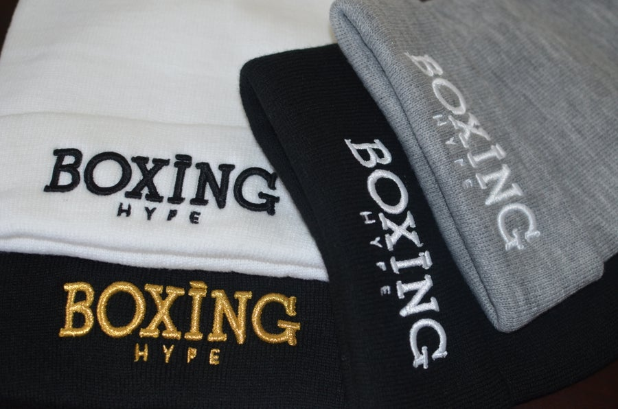 Image of BoxingHype unisex Beanies (ships week of Dec 11th)