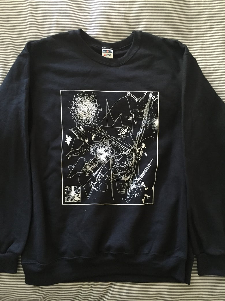 Image of BURNT OUT CREWNECK