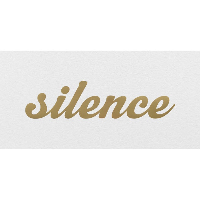 Image of 'Silence Is Golden' IN STOCK!
