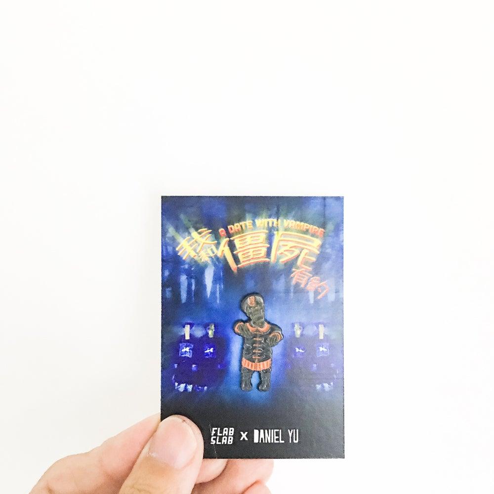 Image of Jiangshi enamel pin @thedanielyu