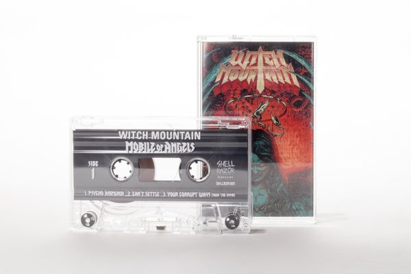Image of WITCH MOUNTAIN - Mobile Of Angels Cassette Tape