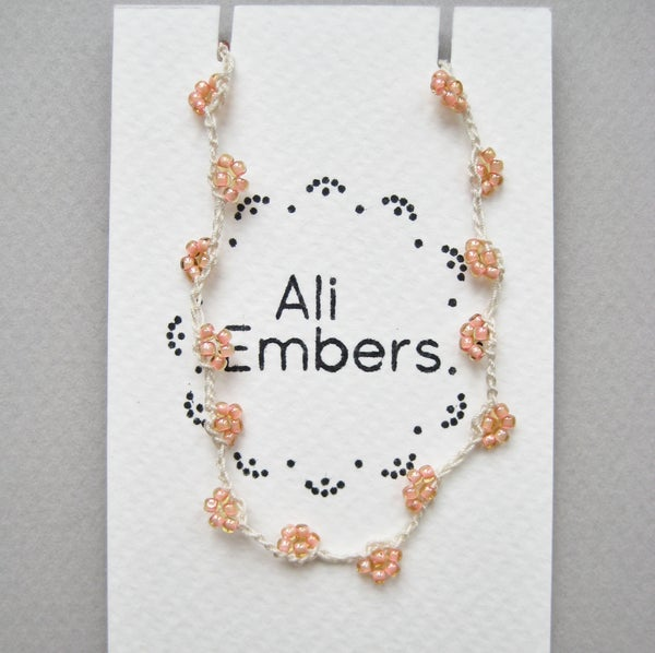 Image of Peach Wish Bracelet