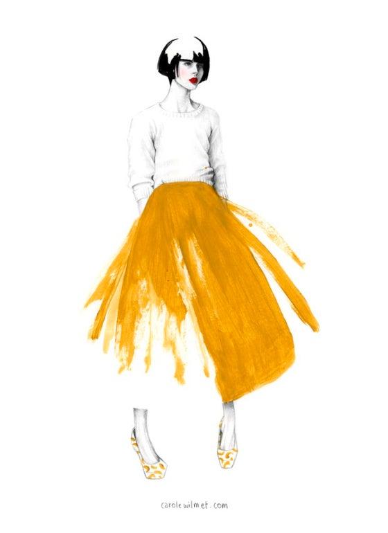 """Image of """"Skirt"""" Print"""