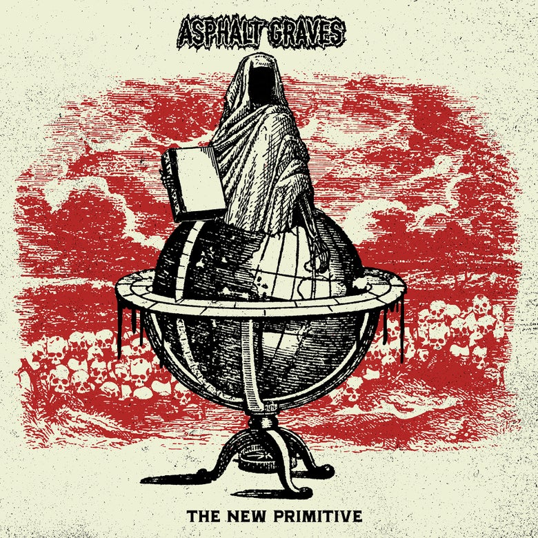 "Image of Asphalt Graves ""The New Primitive"" VIT046 LP Preorder June 10th"