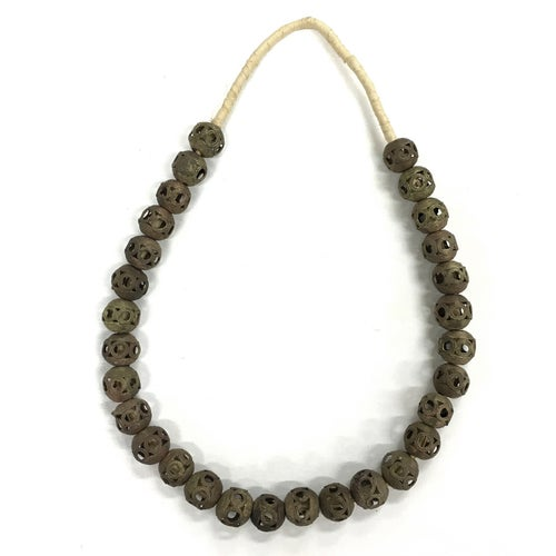 Image of Bronze Ball Baule Necklace