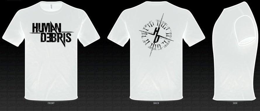 Image of HUMAN DEBRIS (T-Shirt / White) - 2016