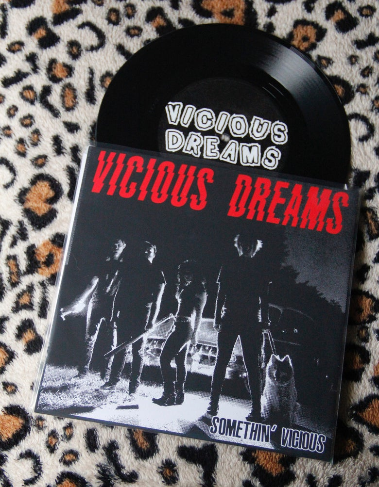"Image of Somethin' Vicious 7"" (BLACK vinyl)"