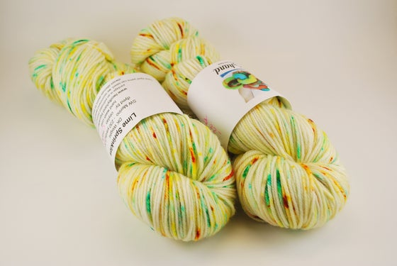 Image of Lime Sprouts (Sprinkles) - DK SW Merino