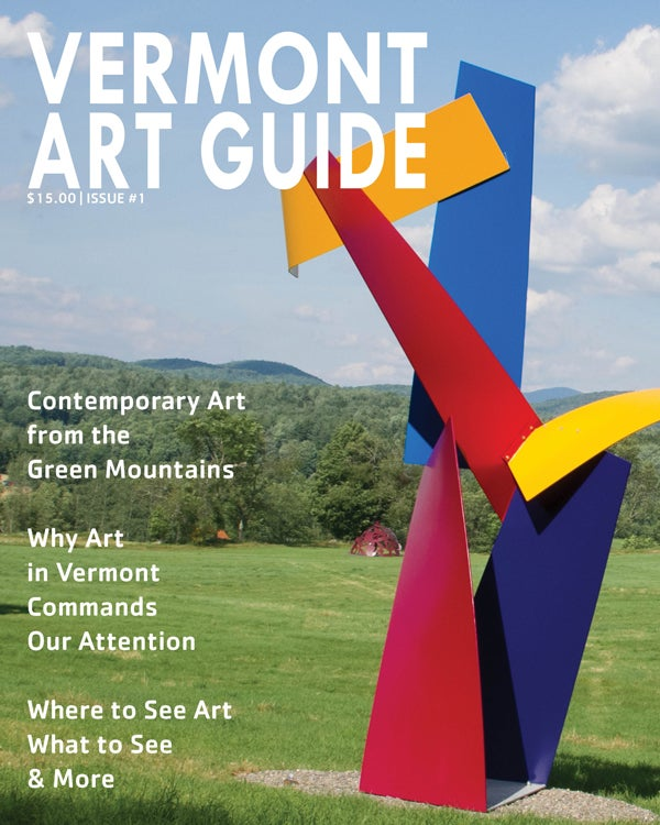 Image of Vermont Art Guide #1